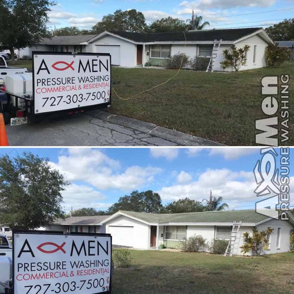 Tile Shingle Roof Cleaning Safe Low Pressure St Pete Tampa